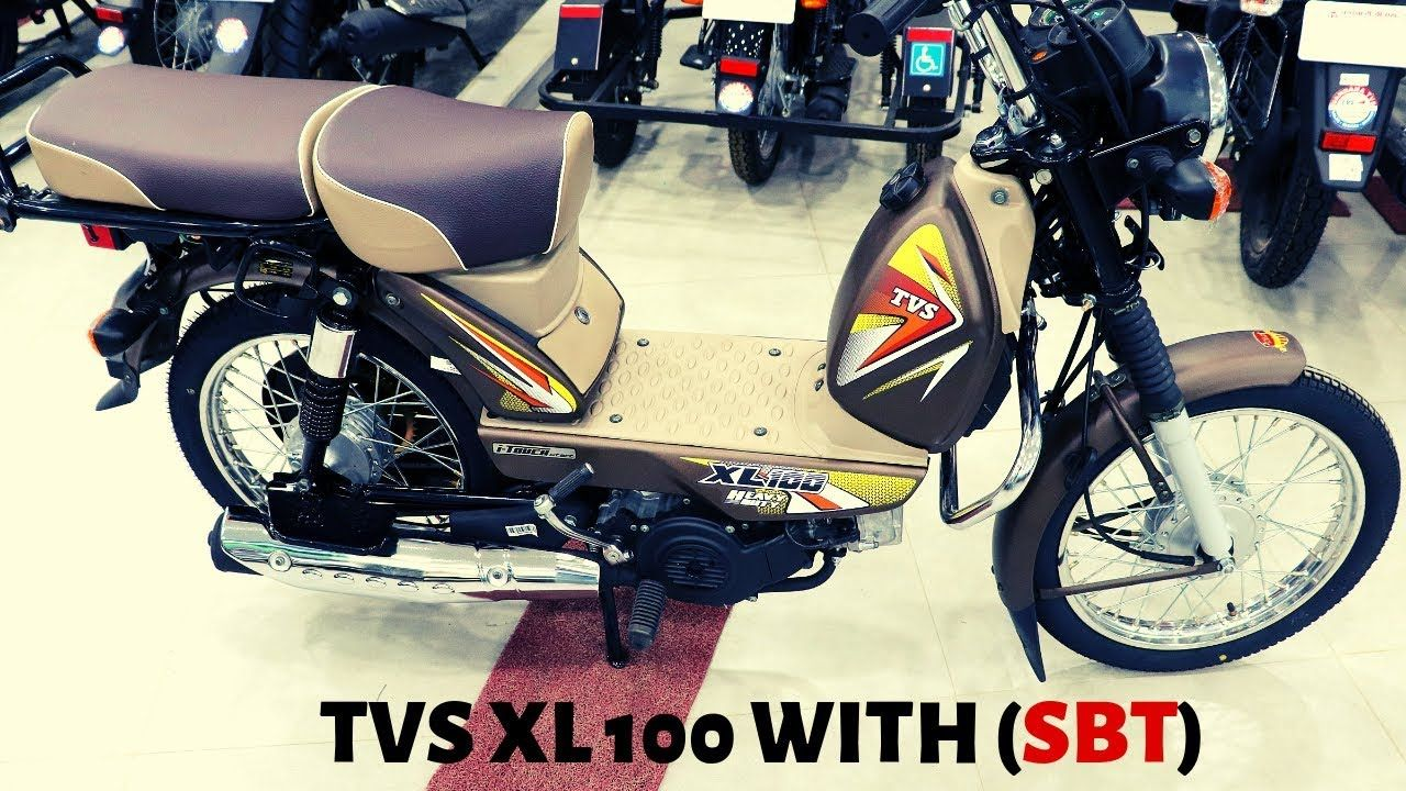 New 2019 Tvs Xl100 Itouch Start Heavy Duty With Sbt Update