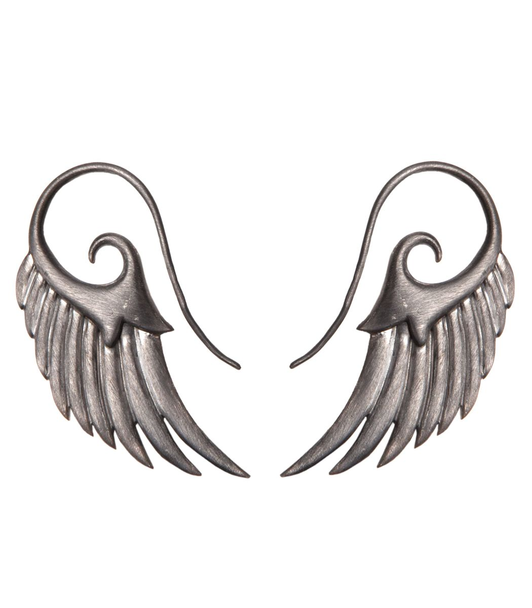 Noor Fares Wing Earrings - ShopBAZAAR