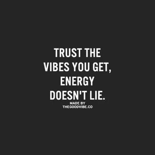 Energy doesn't lie!