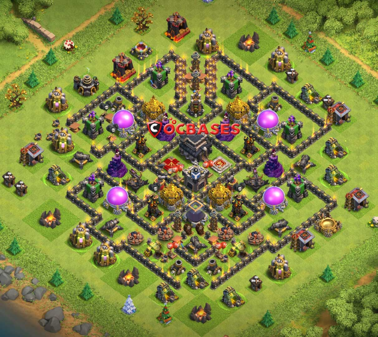 Link Base Coc Th 9 10