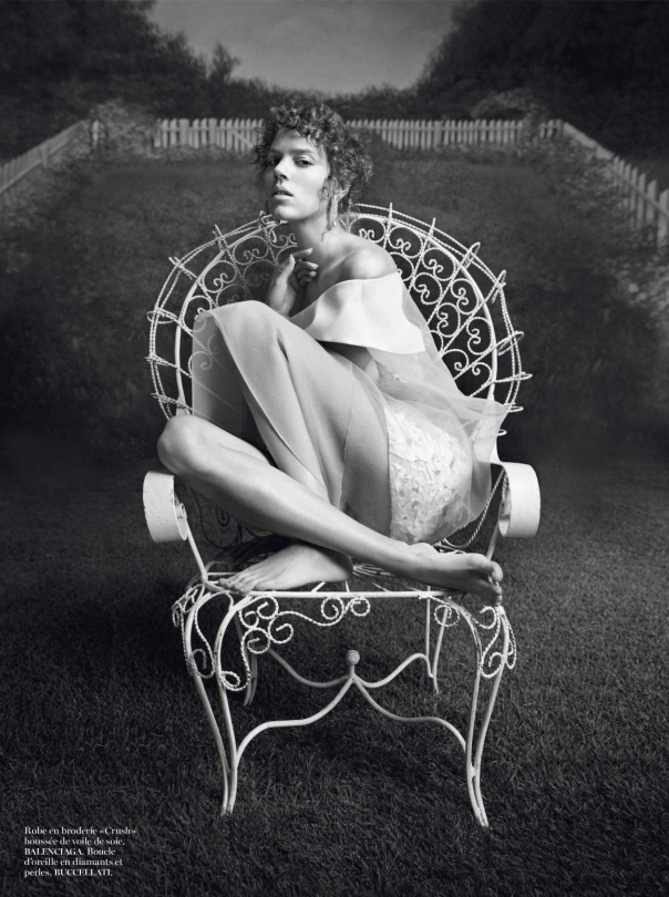 Freja Beha Erichsen by Inez van Lamsweerde & Vinoodh Matadin for Vogue Paris February 2014