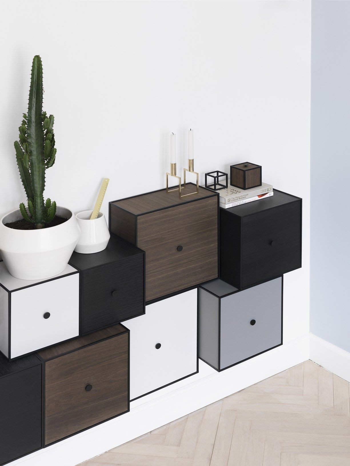 Frame in a new masculine expression by Lassen\'s storage solution now ...