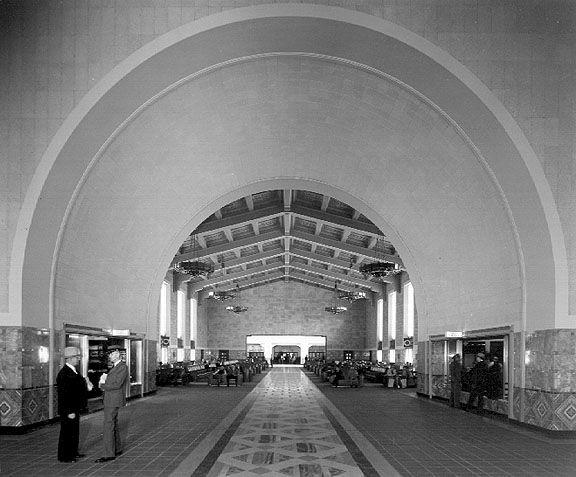 Out About Finding Film Noir At La S Union Station Union Station Film Noir La Union