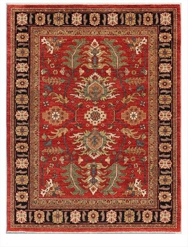 Using Only Long Staple Hand Spun Ghazni Wool From Afghanistan And Vegetable Dye S Art Collections Millennium Rugs Focus On 19th Century Persian Village