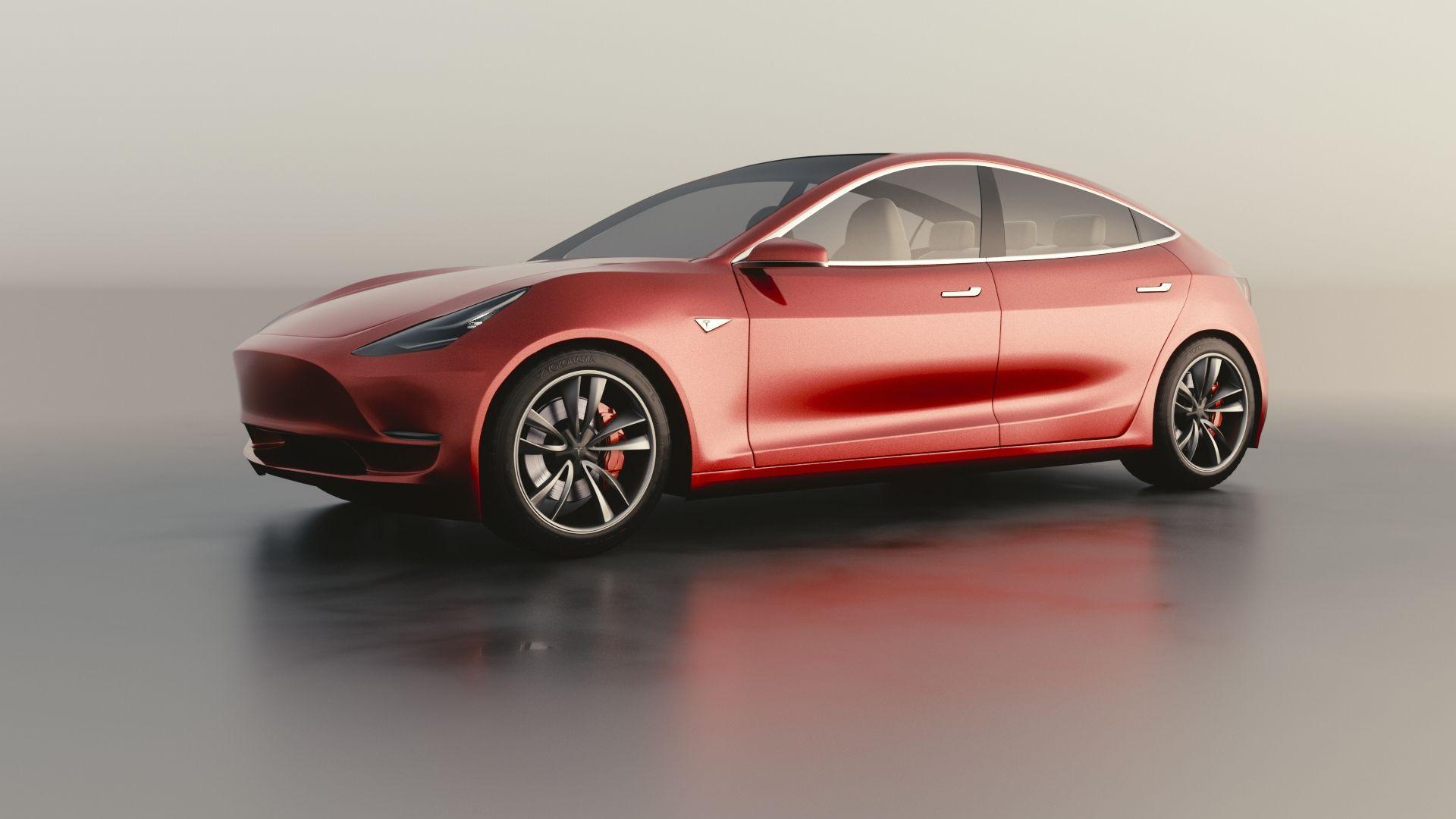 Tesla Model Prototype Supercar Electric Wallpaper Tesla