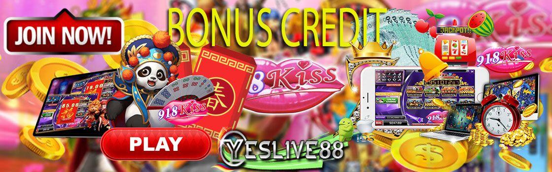 Bonus Credit  Bonus Login  Bonus Rebate  Bonus Rekomen  20%