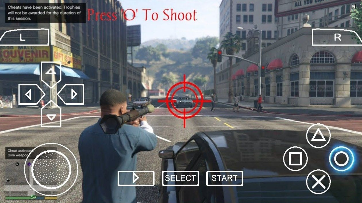 GTA 5 PPSSPP ISO DOWNLOAD FOR ANDROID ในปี 2020 กีฬา