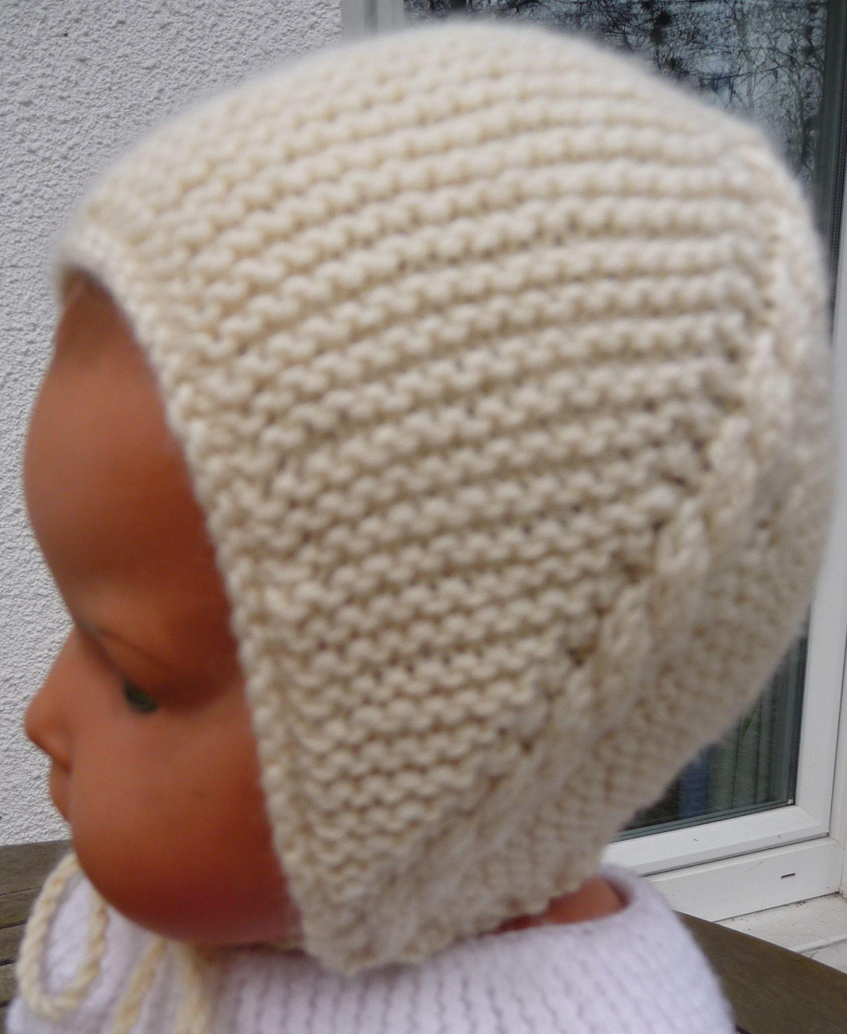 tricoter bonnet bebe naissance
