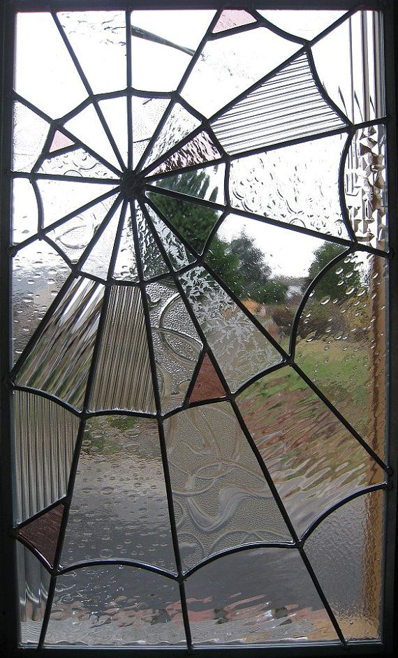 Spider Stained Glass Stained Glass Spider Web Stained Glass