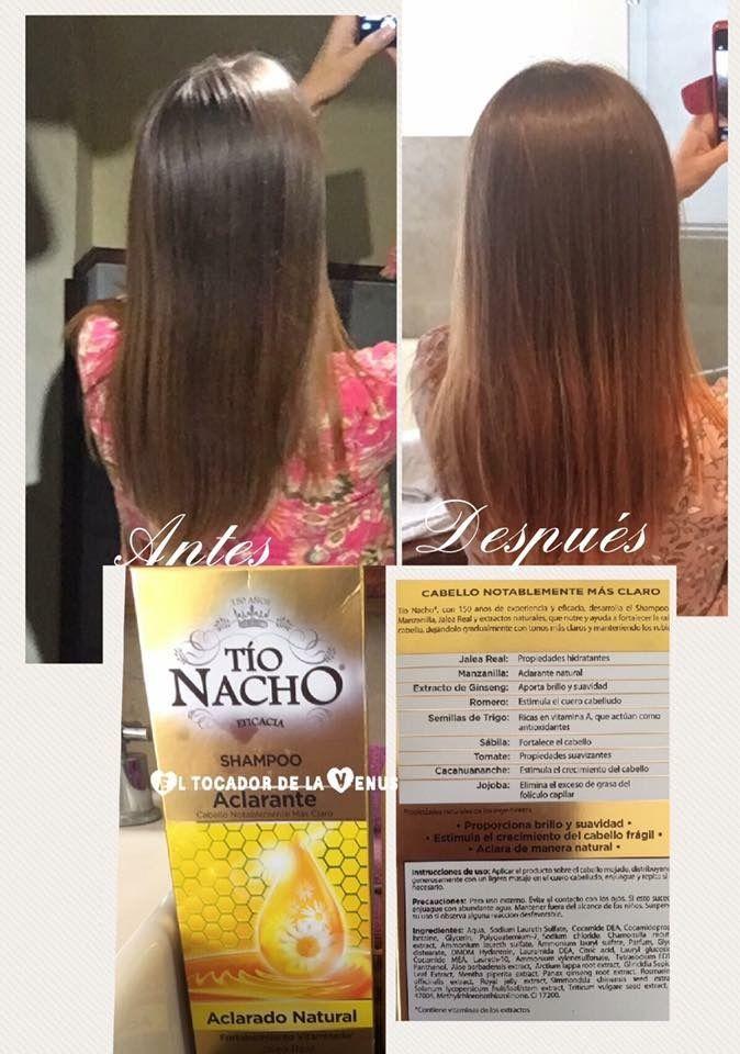 shampoo tio nacho ginseng funciona