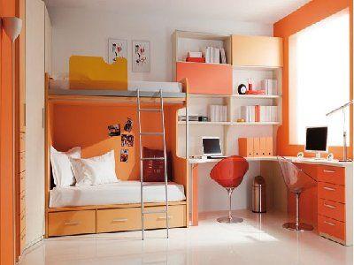 Organizar dormitorio y estudio cuarto peque o buscar con - Como decorar un estudio pequeno ...