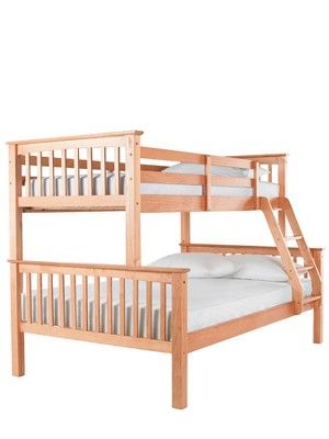 Ladybird Novara Trio Bunk Bed with Standard Mattresses (buy and SAVE!) - Optional Assembly Service, http://www.very.co.uk/ladybird-novara-trio-bunk-bed-with-standard-mattresses-buy-and-save---optional-assembly-service/1121454895.prd