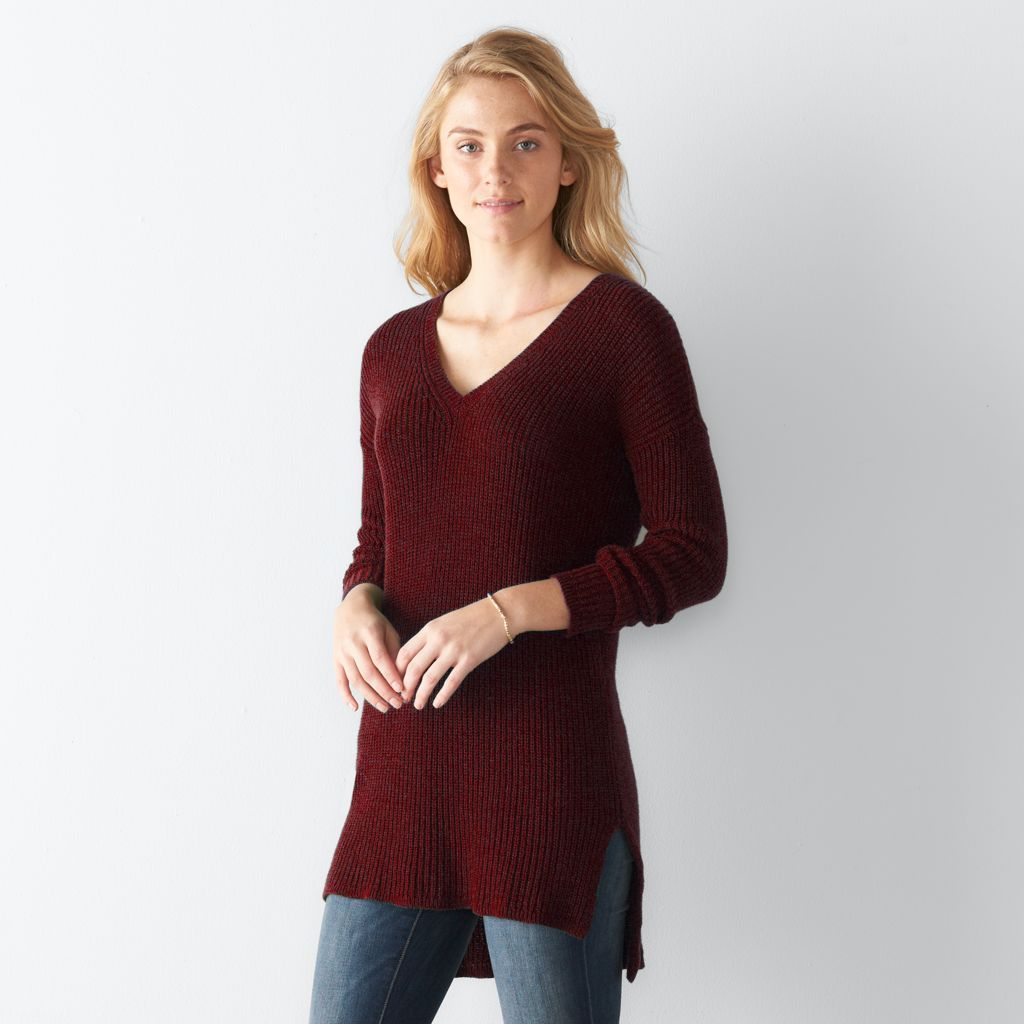 Women's SONOMA Goods for Life™ Knit Tunic Sweater | My Style ...