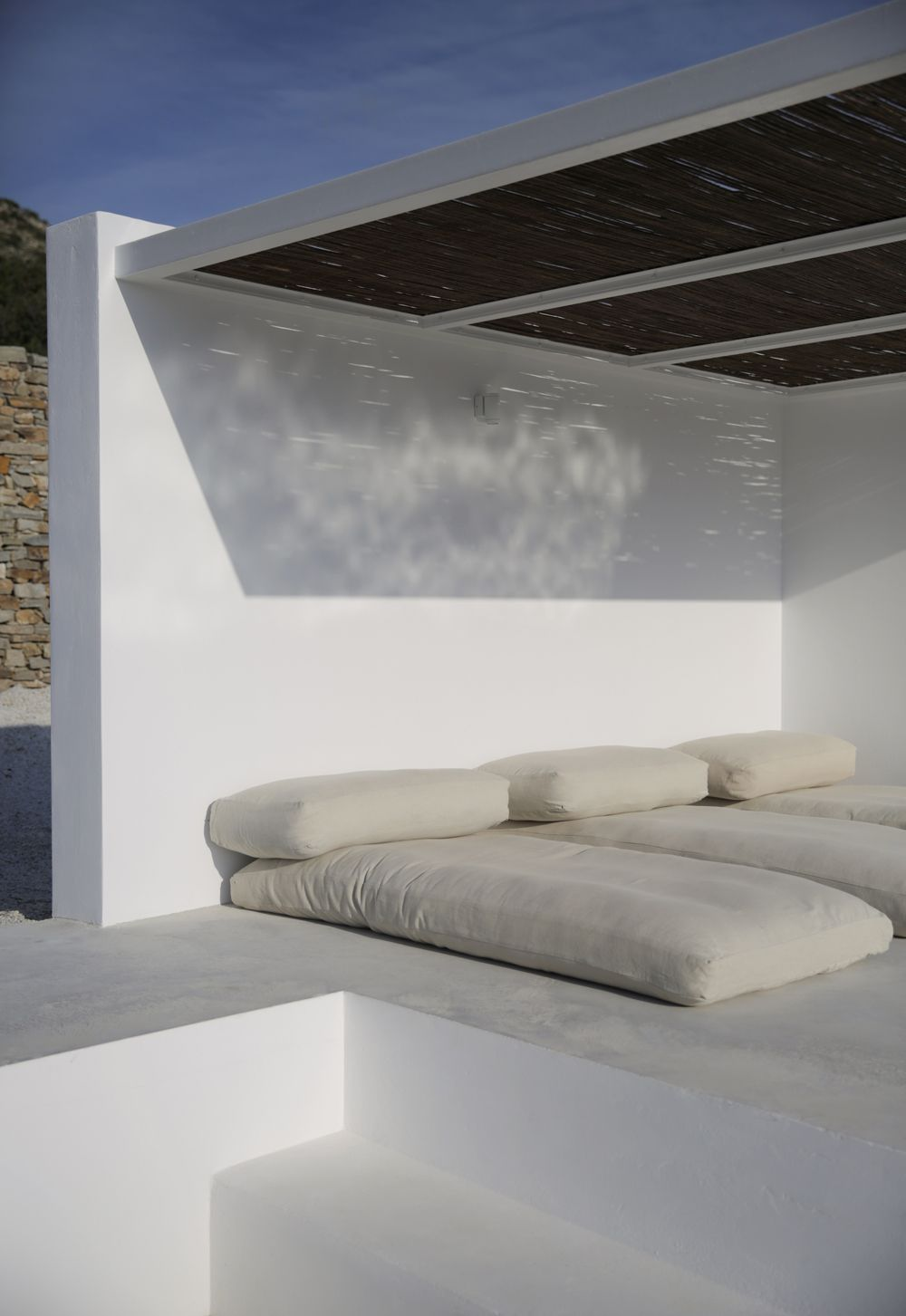 Santorini Patio Furniture: Maison Kamari En 2019