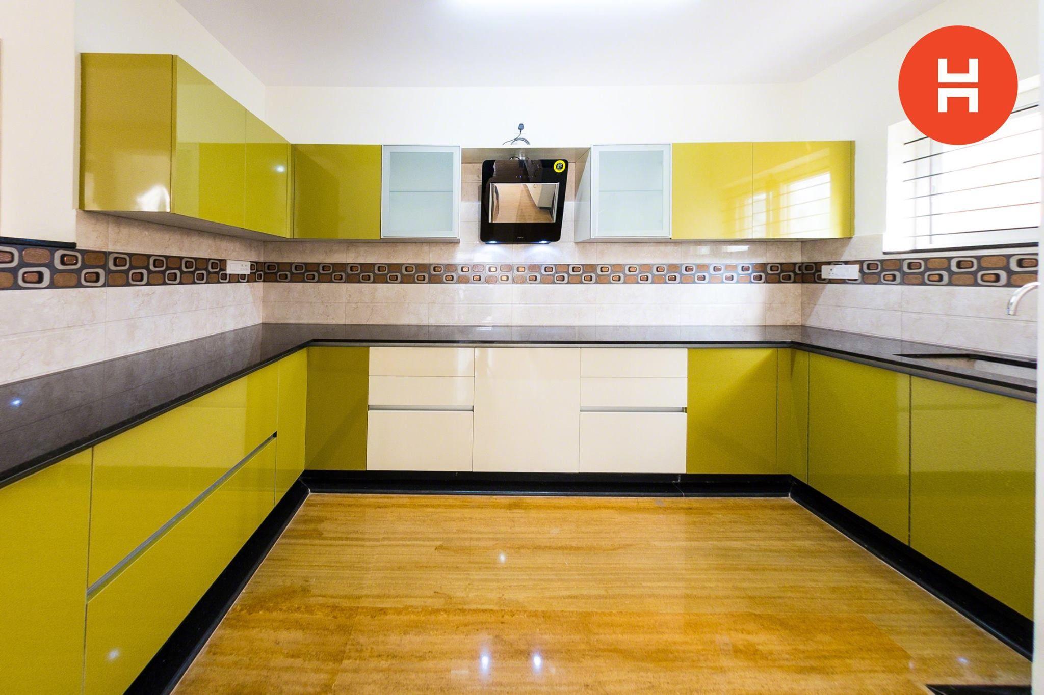 Pin de HomeLane en U-Shaped Modular Kitchens | Pinterest | Intereses ...