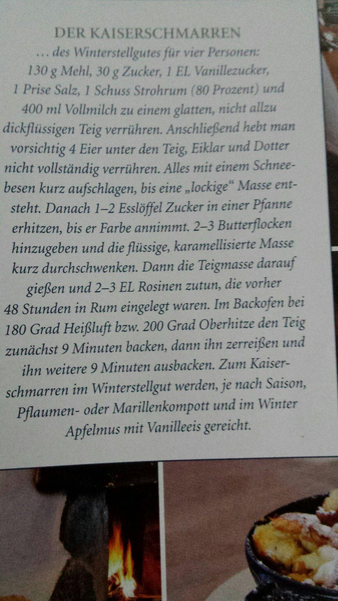 Kaiserschmarrn...