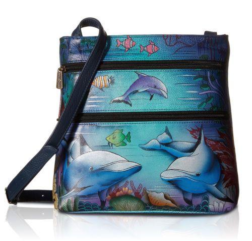 c50cfee3dd5b Anuschka-Multi-Pocket-Leather-Crossbody-w-Back-Cell-Pocket-Dolphin-World