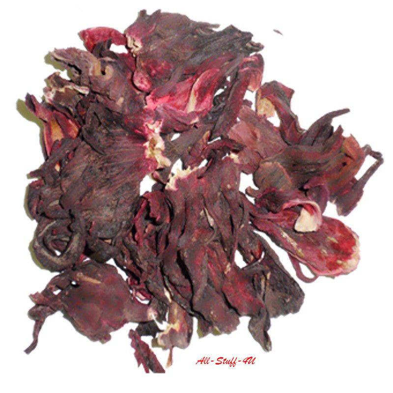 Hibiscus Karkade Red Tea Organic Natural Health Flower Herbal