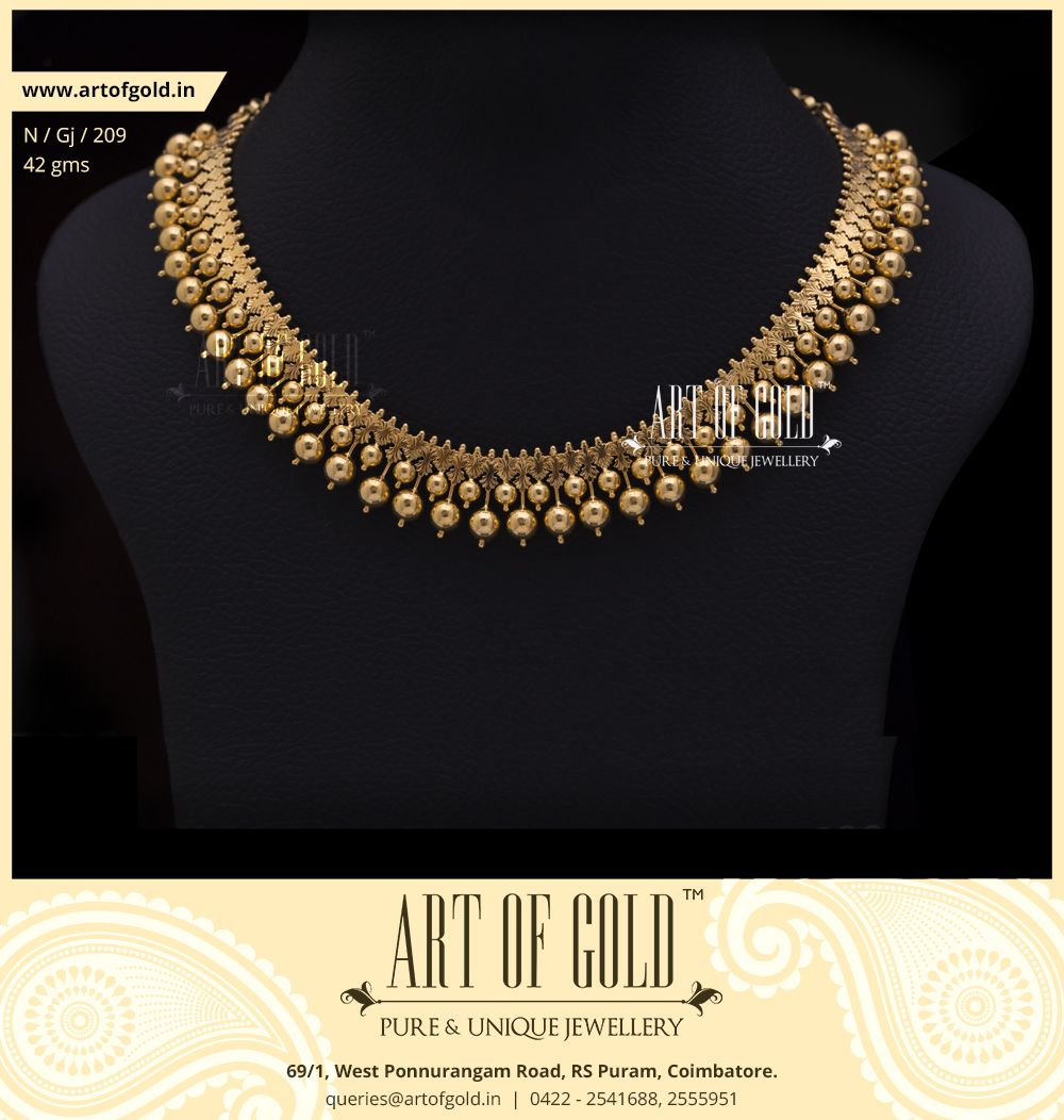 Traditional gold Gejje Addige from Art of Gold Jewellery ...
