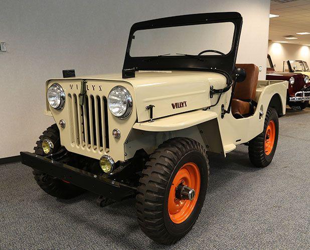 1964 Cj 3b Willys Jeep Willys Jeep