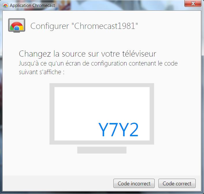 cool Test : Chromecast.