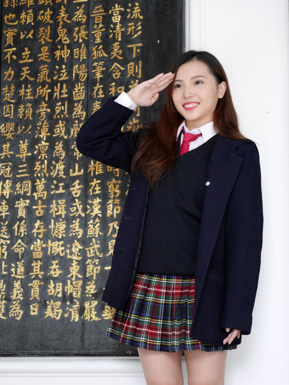 私立治平高中頁8 uniform map 制服地圖 school girl outfit cute skirts school teacher fashion