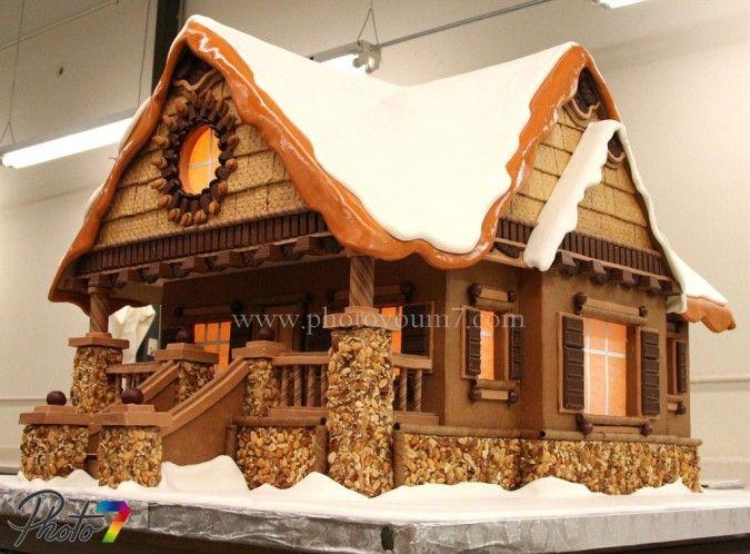 chocolate cake house - Pesquisa Google