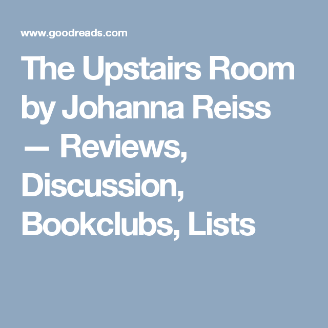 the upstairs room book