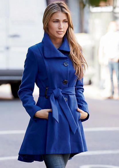 0a8d51581fec Steve Madden Princess Funnel Coat - Plus Size Outerwear Jackets ...