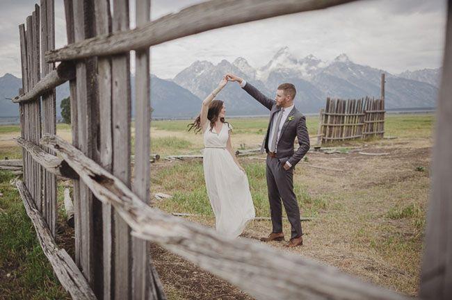 Grand Tetons wedding