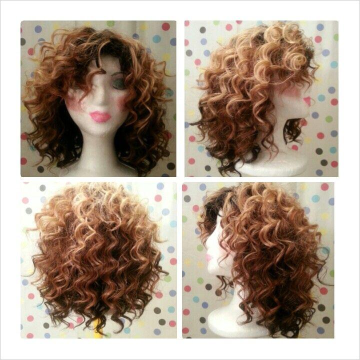 Especially Fashioned by Elizabeth curly wig