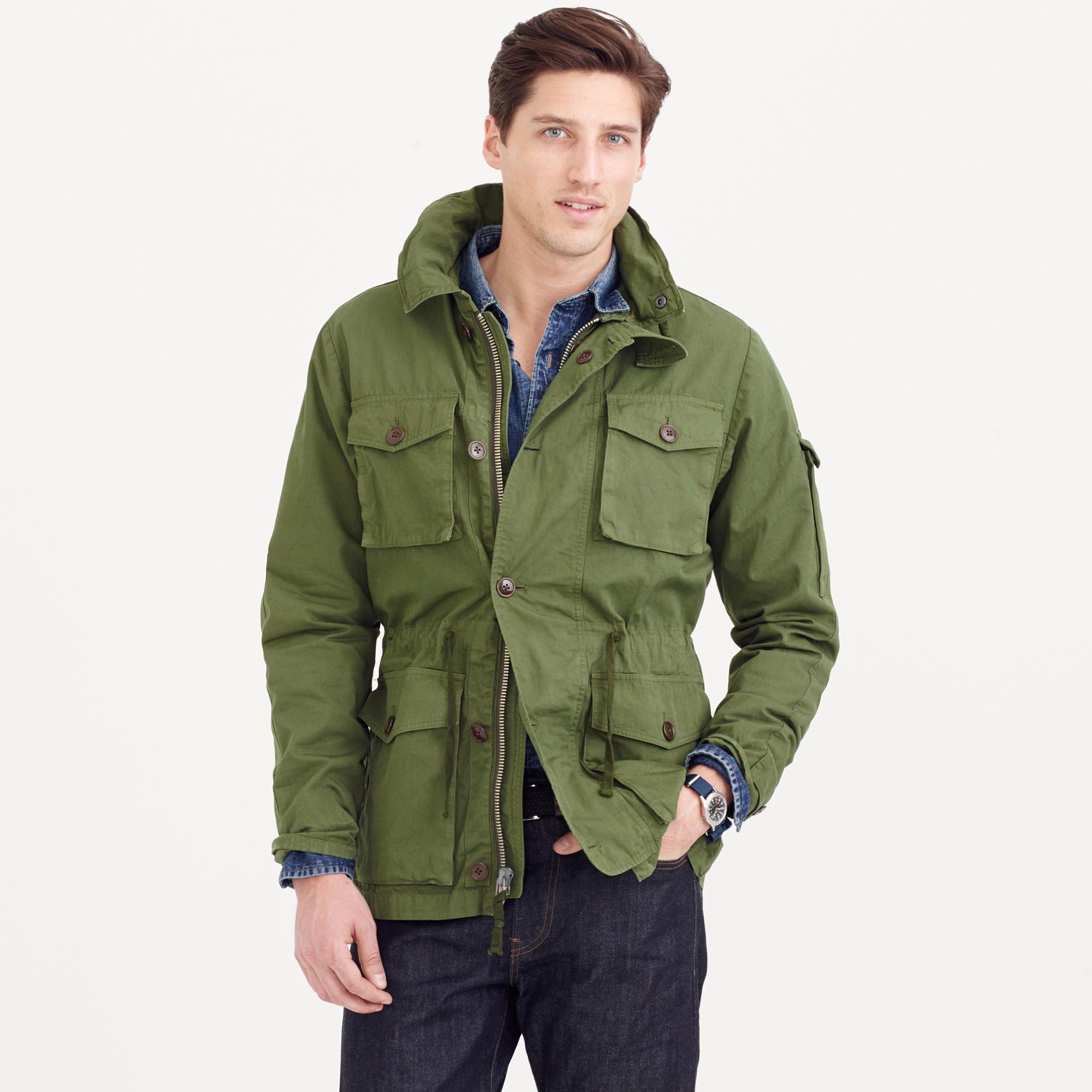 Field Mechanic Jacket : Men's Coats & Jackets | J.Crew | Field ...