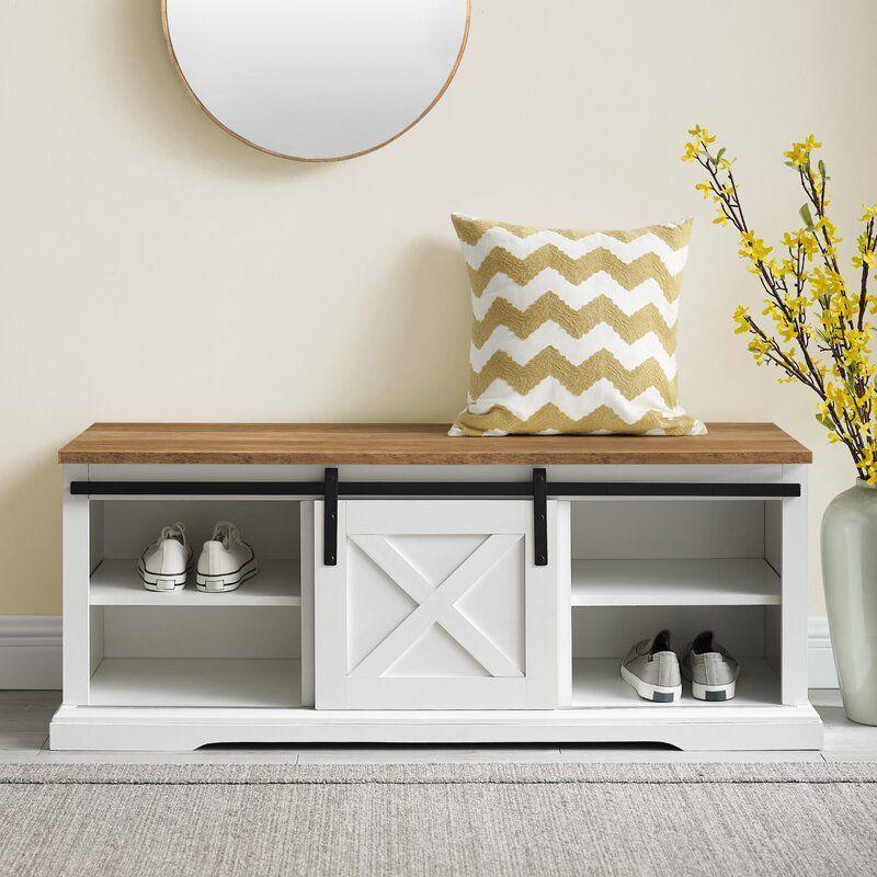 Gracie Oaks Pendergrass Shoe Storage Bench Reviews Wayfair In 2020 Bench With Shoe Storage Storage Bench Bedroom Shoe Storage