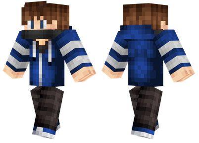 Cool Blue Guy Skin For Minecraft Pe Minecraft Skins Minecraft