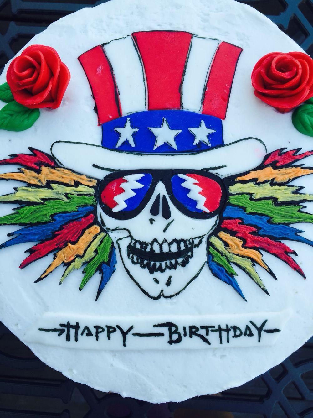Grateful Dead Birthday Cake | Eat Cake | Grateful dead quotes
