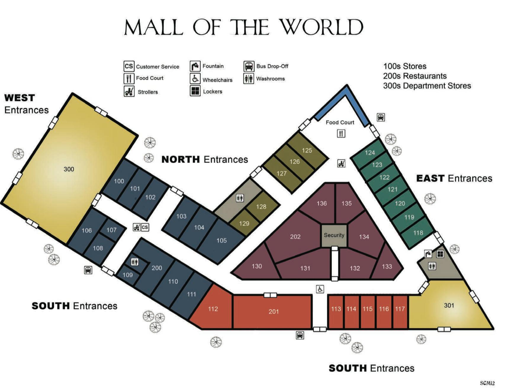 Mall Of The World Shadowrun Floorplan Mall Design Shopping Mall Architecture Shopping Mall Design
