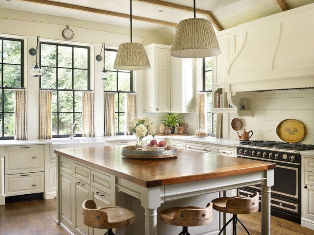 34 Luxury Farmhouse Kitchen Design Ideas To Bring Modern Look ...