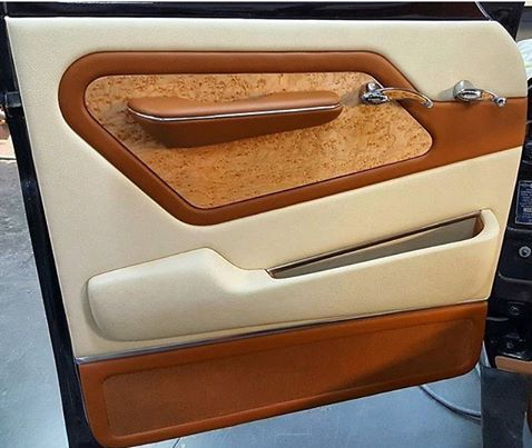 Another Incredible Custom Door Panel By Hrhdesignslv This One For A 1957 Chevy Step Side T Custom Car Interior Car Interior Upholstery Automotive Upholstery