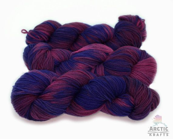 Don't Drink the Kool-Aid Hand dyed worsted weight by Arctickrafts