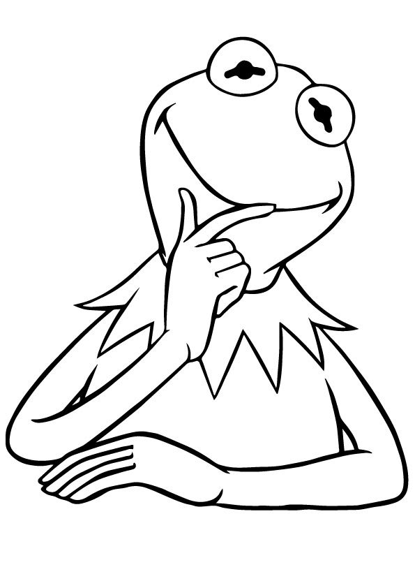 25 Delightful Frog Coloring Pages For Your Little Ones Frog