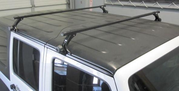 Thule Hard Top Roof Rack For 2007 2020 Wrangler Jk Jl 2020 Gladiator Jt 300r 712500 Jeep Wrangler Unlimited Roof Rack Jeep Wrangler