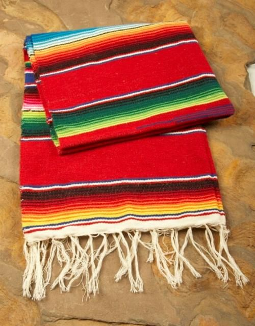 Serape Table Runner 6 00 For The Small Tables