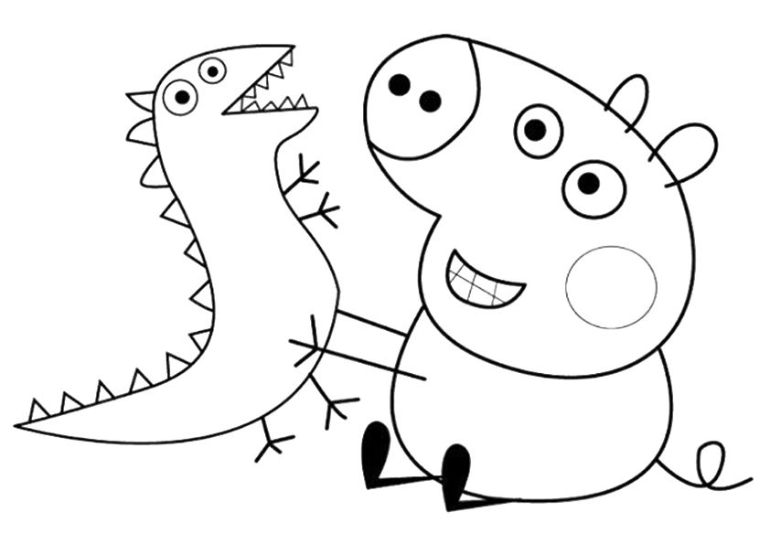 Peppa Pig Para Colorear Best Coloring Pages For Kids Peppa Pig Coloring Pages Cartoon Coloring Pages Peppa Pig Colouring