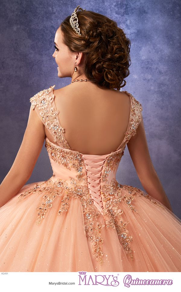 Princess Style 4q491 Sparkling Tulle Quinceanera Ball Gown