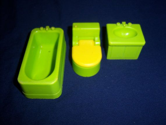 1970's+FISHER+PRICE+725+Utility+Bathroom+Tub+by ...