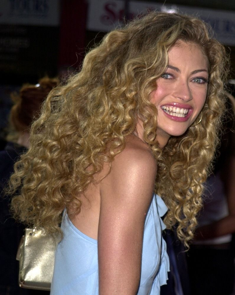 Curly Hair Icons Rebecca Gayheart Lorde Hair Curly Hair Styles