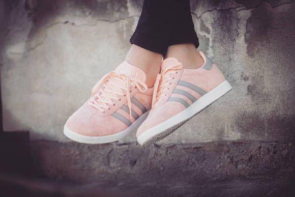 chaussure femme adidas gazelle rose
