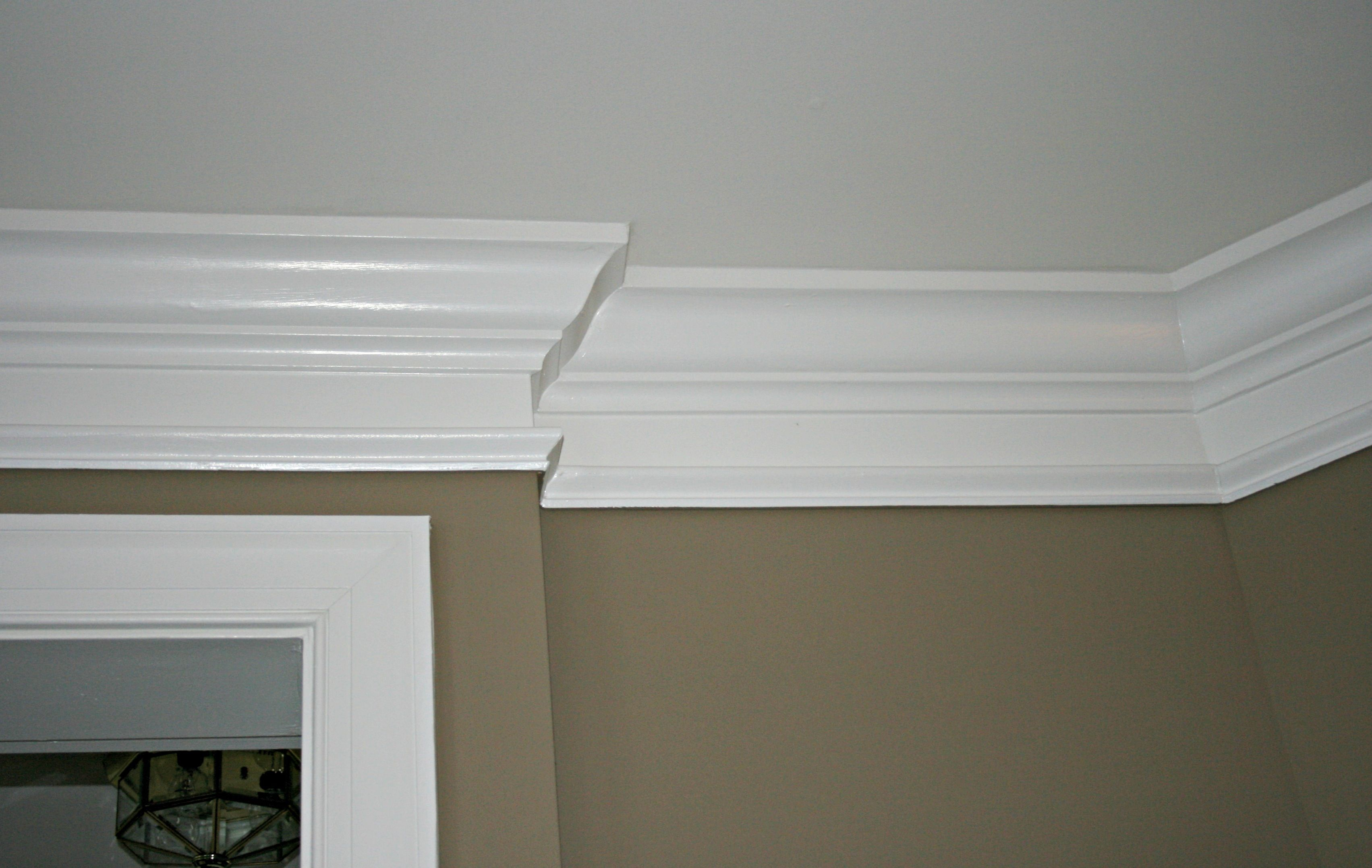 ceilings how ideas home ceiling to molding moldings crown diy install a improvement
