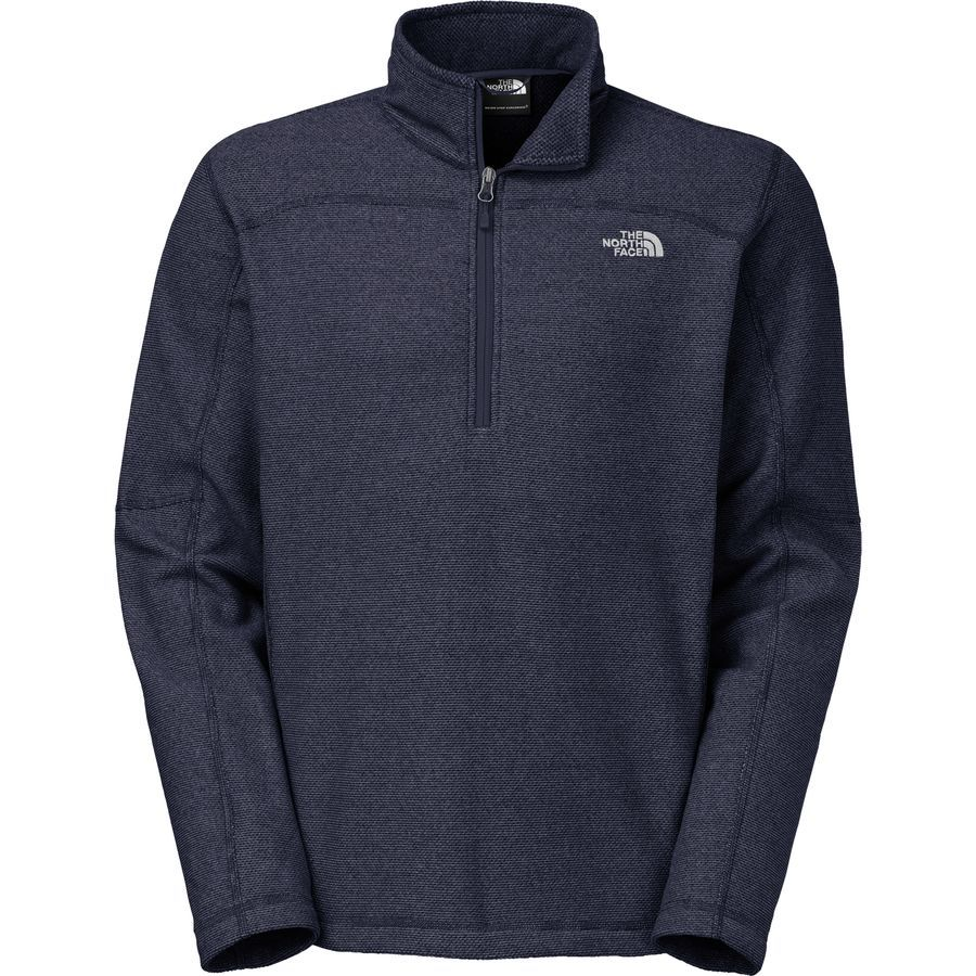 40 The North Face Texture Cap Rock Fleece Pullover - 1/4 Zip ...