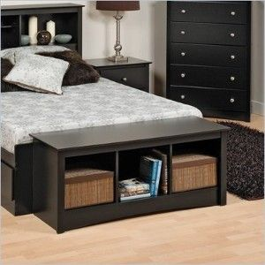 Small Bench Bookcase At End Of Bed Storage Bench Bedroom Ikea